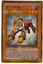 YUGIOH • Tigre da Laboratorio Test Tiger GB • GOLD ORO