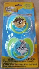 New 2 BABY KING 0+ Soft Silicone Pacifier,BPA FREE,FREE COVERS,Looney Tunes