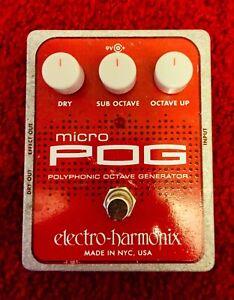 Electro-Harmonix Micro POG Polyphonic Pitch Octave Generator
