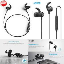 Bluetooth Headset SoundBuds Slim Wireless Headphones 4.1Lightweight Stereo Anker