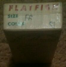 New listing Flatfish Lure - Box Only Helin Tackle Co. Detroit 7, Mich. - Size F6 Color Si