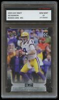 JOE BURROW 2020 LEAF DRAFT 1ST GRADED 10 ROOKIE CARD RC CINCINNATI BENGALS/LSU