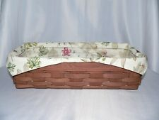 Longaberger Medium Everyday Essentials Or Bread Liner - Botanical Fields - New