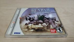 Gundam Side Story 0079: Rise From the Ashes (Sega Dreamcast 2000) Complete NTSC