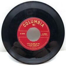 Frankie Lane & Jo Stafford Settin' The Woods On Fire 45 Rpm Record 4-39867