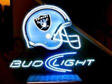 "New Oakland Raiders Helmet Neon Light Sign 24""x20"""
