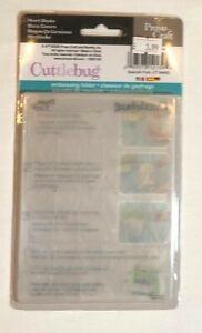 Heart Blocks Cuttlebug Embossing Folder - All Proceeds to MacMillan