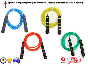 NEW FOAM GRIP SPEED SKIPPING ROPES FITNESS CARDIO EXERCISE GYM BOXING MMA SPORTS