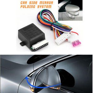 Car Side Mirror Smart Folding System Effective Anti-scratching &Anti-collision