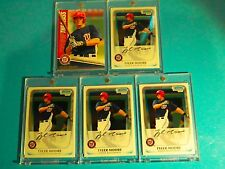 4ct. 2011 BOWMAN CHROME PROSPECTS > TYLER MOORE (RC's) + Topps of the Class (RC)