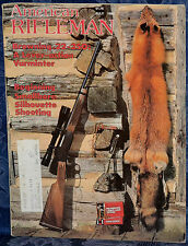 Vintage Magazine American Rifleman, JULY 1982 !! BROWNING Model 81 BLR RIFLE !!