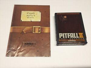 Atari  2600    Pitfall II   Game and Manual     TESTED
