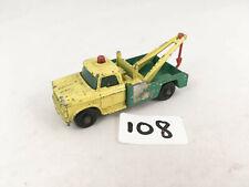 VINTAGE LESNEY MATCHBOX # 13D BP DODGE WRECKER BREAKDOWN TOW TRUCK