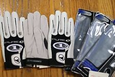 Prokennex Racquetball Glove Pure One, 3 Gloves, White, Right Hand Small S
