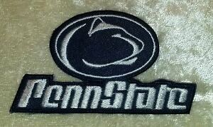"""Penn State Nittany Lions 3"""" Iron On Embroidered Patch ~FREE Ship`!!"""