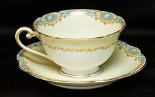 Vintage Noritake Japan Marvelle 304~Footed Cup & Saucer Set~Elegant China