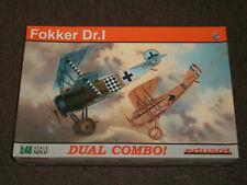 Eduard 1/48 Scale German Fokker Dr.I - Dual Combo