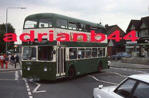 ORIGINAL  BUS SLIDE - NOTTINGHAM TRANSPORT LEYLAND ATLANTEAN 57NAU