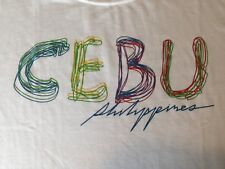 NEW WITH TAGS CEBU, PHILIPPINES T SHIRT MEDIUM
