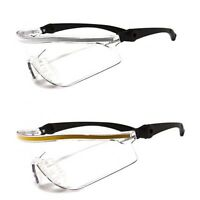 Lot of 2 Pair Cordova Bulldog Style Clear Lens Safety Glasses Sunglasses Z87+