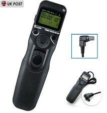 C3 Temporizador Disparador Remoto intervalómetro Para Canon EOS 5D Mark II 5D2 5D4 III IV