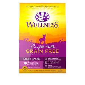 Wellness Complete Health Grain Free Small Breed Deboned Chicken Dry Dog, 11 lbs.