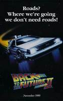 "BACK TO THE FUTURE II (2) Movie Poster [Licensed-NEW-USA] 27x40"" Theater Size"
