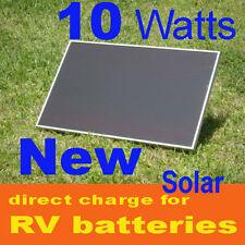 10W 10 Watt 16v Solar Panel, RV, direct Battery Charger