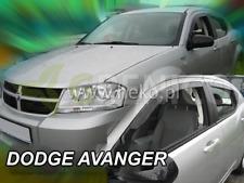 DODGE AVENGER 4-portes 2008-2015 Deflecteurs de vent 4-pièces HEKO Bulles