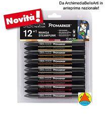 1463244-winsor & Newton ProMarker 12 1 Manga Steampunk