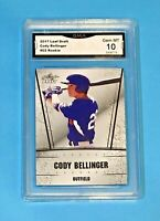 $120 Cody Bellinger Rookie GEM MINT 10 Leaf 2017 Los Angeles Dodgers Non Auto 02