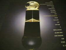 LEONARD COHEN Crystal Globe from CBS 1988 Promo Poster Ad mint condition