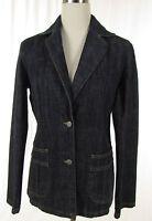 SISLEY Jeansjacke, Jacke Damenjacke Jeans - Blazer blau ital.  Gr. 46  D 40
