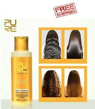 12% Banana Flavor Keratin Treatment Straightening Hair Repair Damage Frizzy Hair