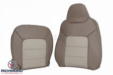 2004 Ford Expedition Eddie Bauer-Driver Side COMPLETE Leather Seat Covers 2-Tone