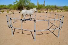 1 or 2 Horse Portable Corral Corrals Panels Pens We-Do Pre-Fab! Free Shipping!