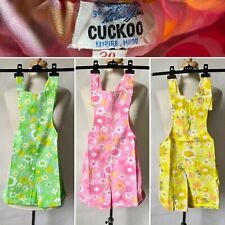 Cuckoo Girls Authentic Vintage Daisy Flower Stretch Waist 70s Sun Shorts Sizes from 4 to 6 Years