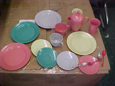 BS3 Vintage Gothamware Toy Dish Set dishes spoons creamer cups