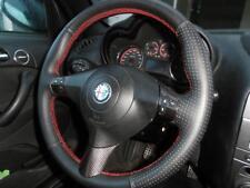 Alfa Romeno GT coprivolante in vera pelle nera traforata cucitur