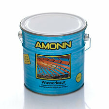 IMPREGNANTE AD ACQUA PER LEGNO WASSERLASUR AMONN 2,50LT - 10 NOCE CHIARO