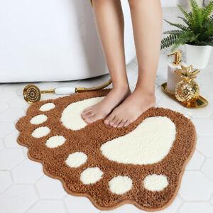 Foot Bathroom Anti Slip Floor Mat Carpet Toilet Water Absorption Door Mat