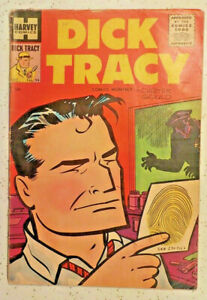 Dick Tracy Comics Monthly #94 ! 1955 ! CHESTER GOULD ! NICE PGS but. hayfamzone