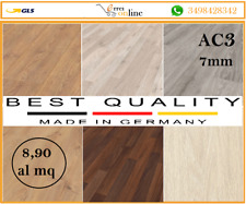 Pavimento in Laminato TUTTI I COLORI simil parquet legno Da 2.47mq | 7 mm AC3