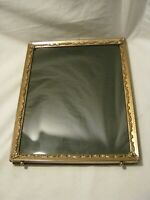 "ornate vintage metal picture photograph photo frame scroll style elegant 8"" x 10"