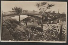 Clacton on Sea, Essex. The Bridge.   vintage postcard zd224