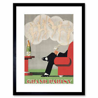 Advertisement Food Drink Champagne Grand Parisy Kitchen Framed Wall Art Print