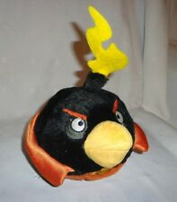 Space Black Bomb Bird 2012 Commonwealth Angry Bird Plush Soft Toy Stuffed Animal