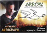 Arrow Season 4 Auto Autograph Card JR Bourne Double Down JRB  Cryptozoic
