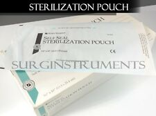 Autoclave 200 PC Premium Sterilization Pouch Bag Self Sealing 5.25
