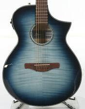 Ibanez Aewc400 Acoustic-Electric Guitar - Indigo Blue Burst High Gloss
